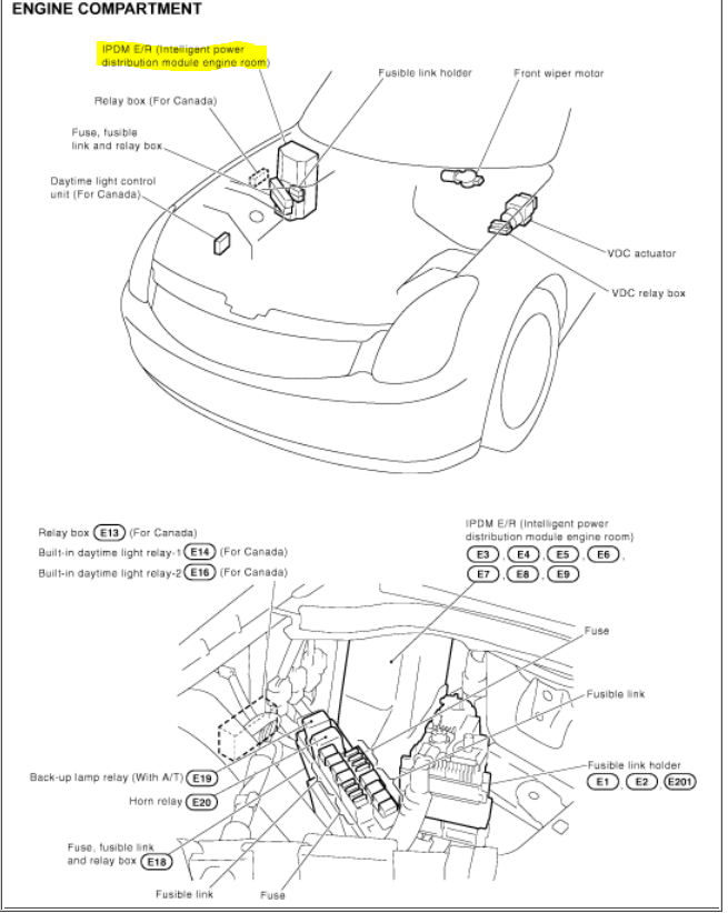 2005 Infiniti G35 Coupe Fuse Diagram Cars Wiring Diagram