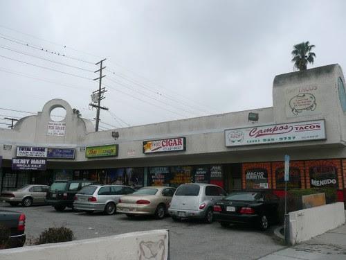 La Pico Plaza Strip Mall
