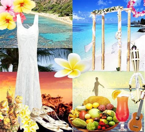 Hawaiian Wedding Decorations   Romantic Decoration