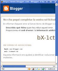 Error de Blogger