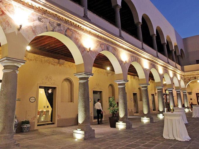 El nuevo Quinta Real Puebla está desarrollado en el Ex Convento de la Limpia Concepción, joya arquitectónica del siglo XVI.