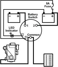 boat dual battery wiring diagram image 2