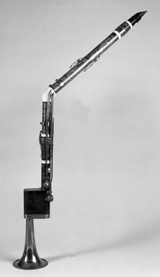 Corno di basseto clarinete de la época de Mozart. Clarinete clásico. Clariperu