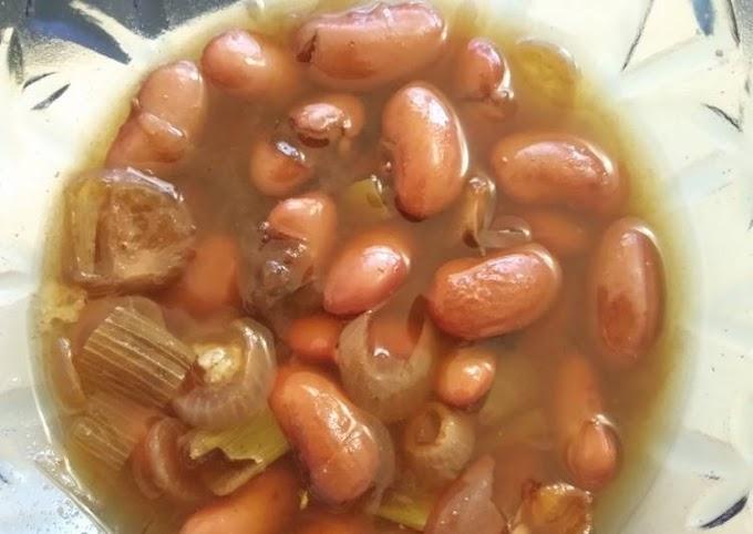 Resep 97. Sayur Kacang Merah Khas Sunda (Angeun Kacang)