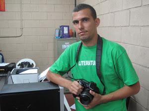 Fotógrafo que mora no Alemão