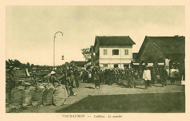 INDOCHINE - THUDAUMOT - Laithieu. Le Marché