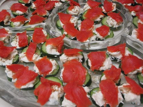 Easy Japanesy Salmon Rounds