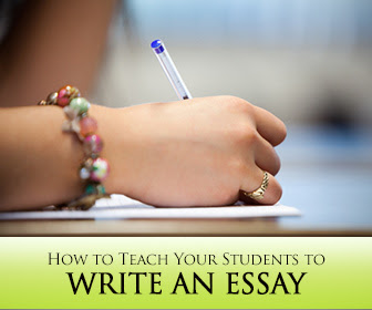 how to write an essay about literature