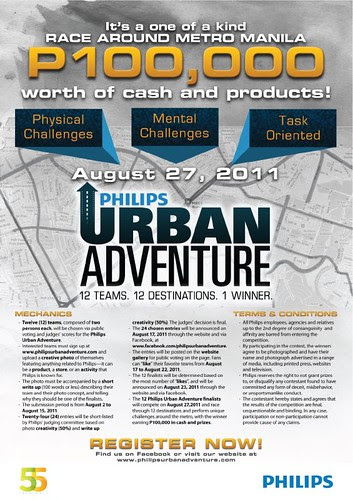 Philips Urban Adventure  Poster