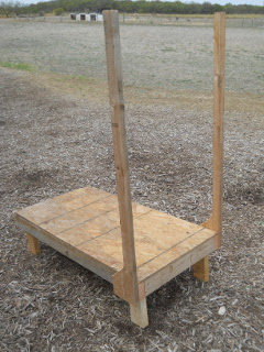 Goat Milking Stand Uprights