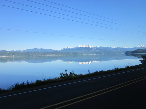 Puget Sound reflecting
