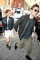 kate mara jamie bell hold hands at london hotspot 01