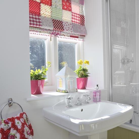 Cheerful country family bathroom | Family bathroom design ...