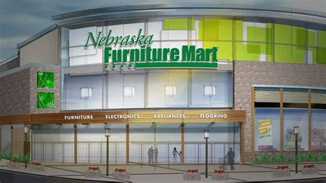 nebraska furniture mart  coming  texas youtube