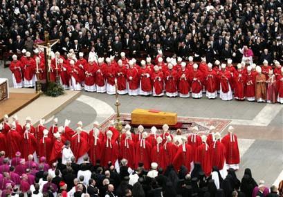 JPII funeral
