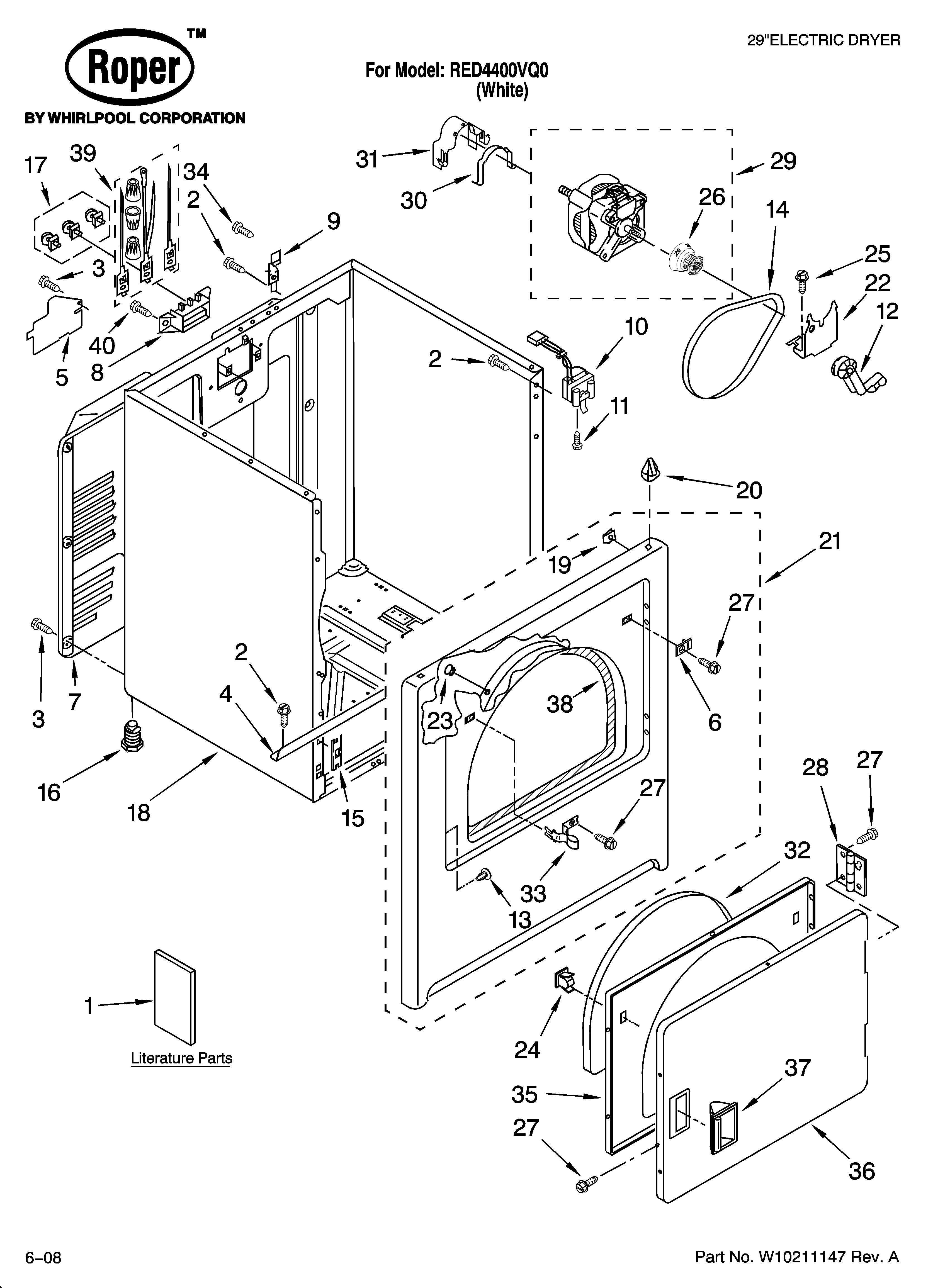 27 Roper Dryer Parts Diagram - Free Wiring Diagram Source   Roper Dryer Red4440vq1 Wiring Diagram      Free Wiring Diagram Source