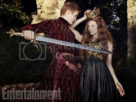 Joffrey Baratheon and Margaery Tyrell in Entertainment Weekly photo Margaery-Tyrell-King-Joffrey-Baratheon-Entertainment-Weekly-04_zpsc532f324.jpg