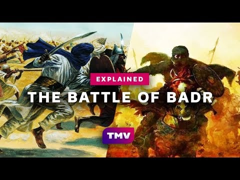 The history of the battle of Badr (Narrated)