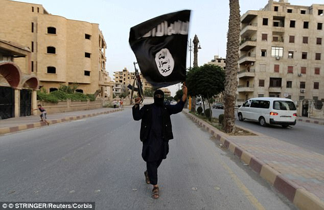 At least 300 British ISIS fighters are hiding in Turkey, it has emerged, amid fears they could try to slip home to carry out terror attacks (file picture)
