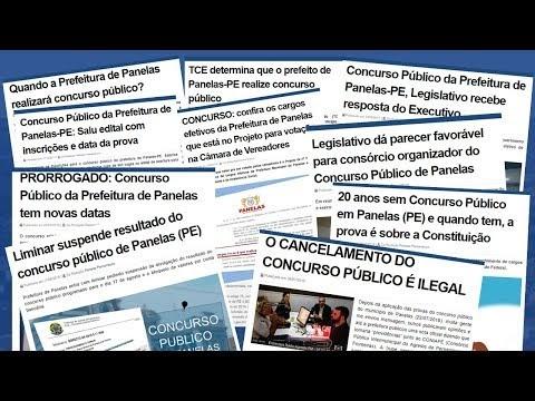 DOCUMENTÁRIO - PANELAS E O DEVANEIO DO CONCURSO PÚBLICO