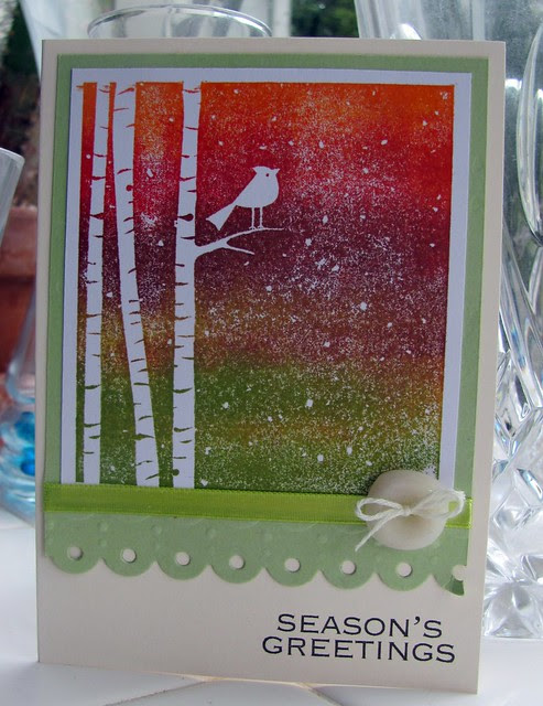 Season's Greeting Bird