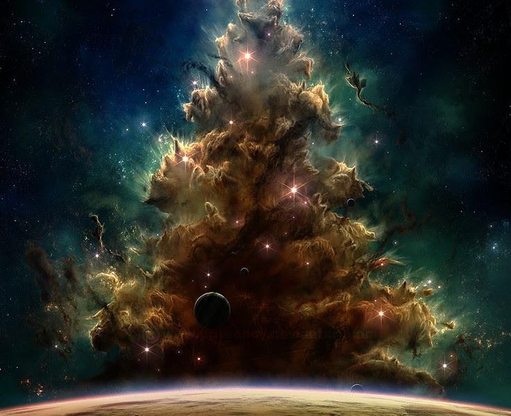 Luna Llena de Navidad : la Energía Lunar y el Simbolismo del Árbol