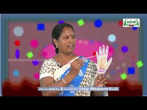 2nd EVS பயிற்சிப் புத்தகம் எனது அற்புதமான உடல் பாடம் 2 Kalvi TV