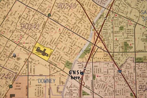 Downey's eastern border