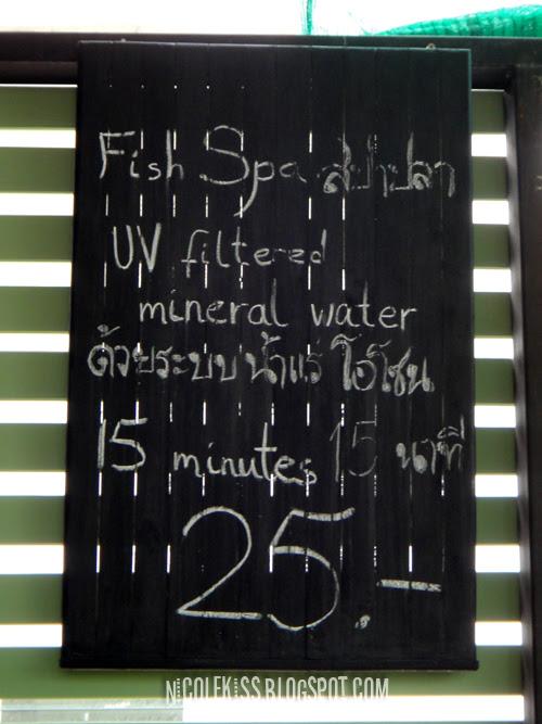25 baht fish spa