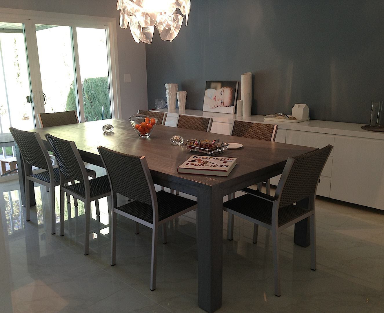 Urban Modern Dining Room- Roca Dining Table - Mortise & Tenon