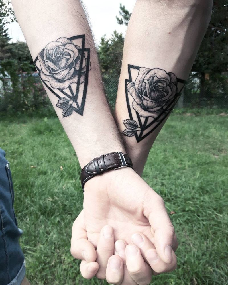 30 Couple Tattoos To Pick From If You Have Found The One Dopewope