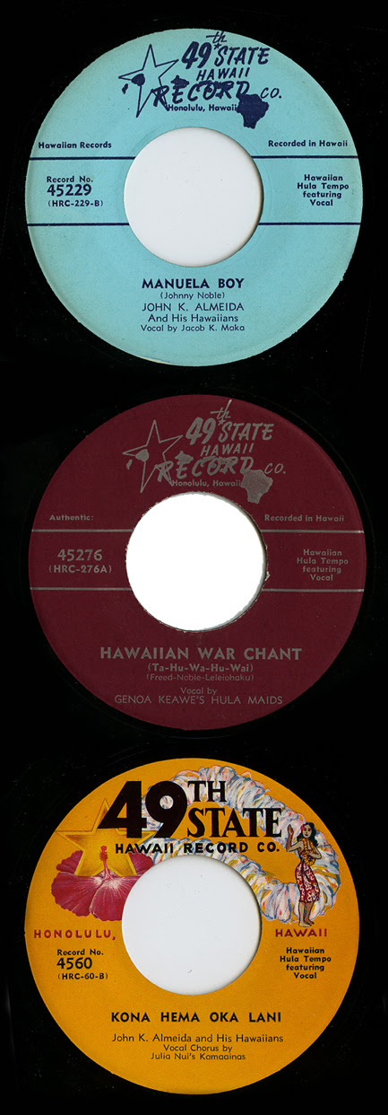 49th State Hawaii Record Co. labels_tatteredandlost