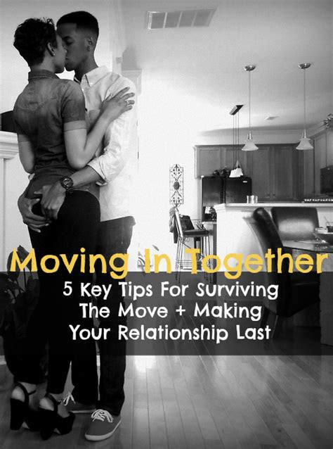 Move In Together Quotes
