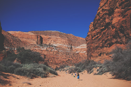 snow canyon utah // the little red house
