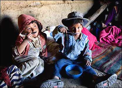 Mortalidad infantil en Bolivia