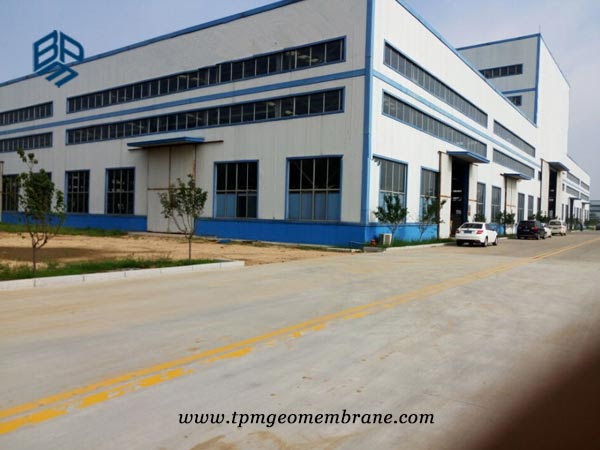 BPM HDPE Geomembrane factory