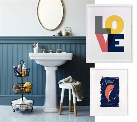 bathroom art   Julep