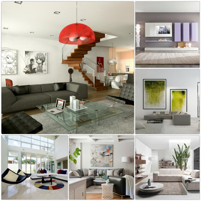 Dekoideen Wohnzimmer: Exotische Stile und tolle Deko Ideen ...