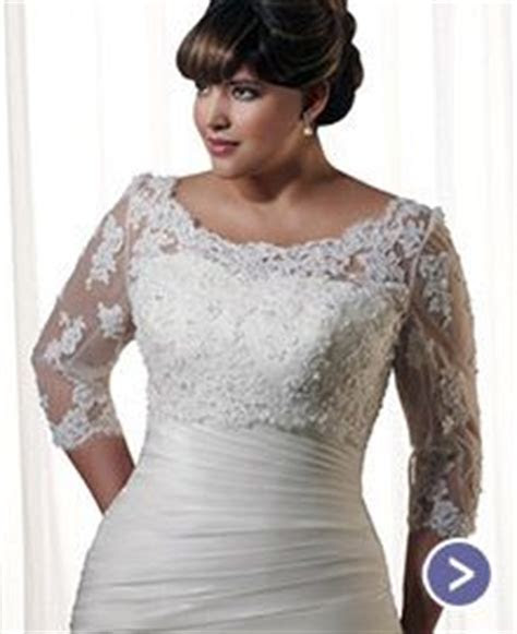 1000  images about Wedding dresses for the fuller figure