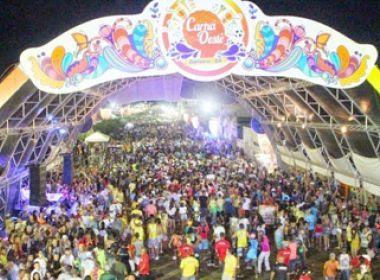 Carnaval de Barreiras: Taxas cobradas para instalação de barracas serão reduzidas