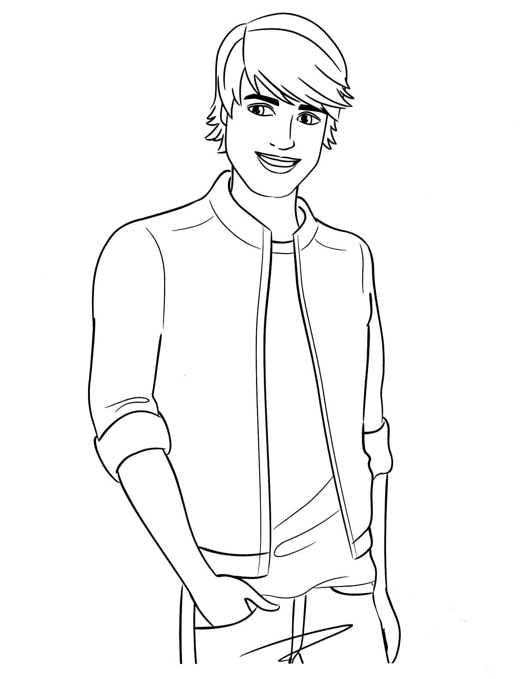 Ken Doll Coloring Pages At Getdrawingscom Free For Personal Use