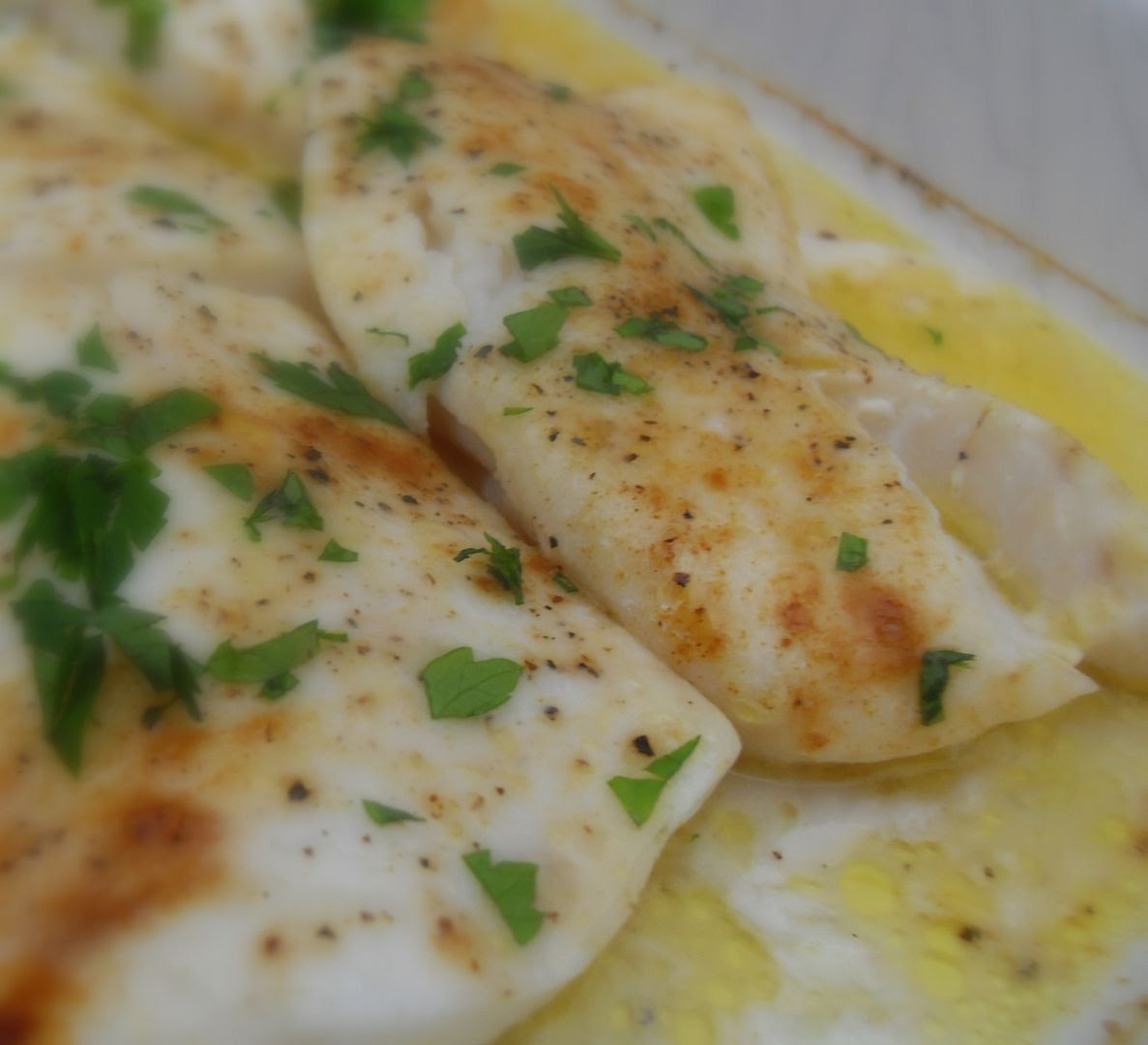 The english kitchen butter baked cod for Easy cod fish recipes