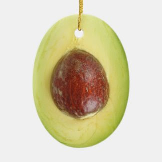 Avocado Pit Ornament