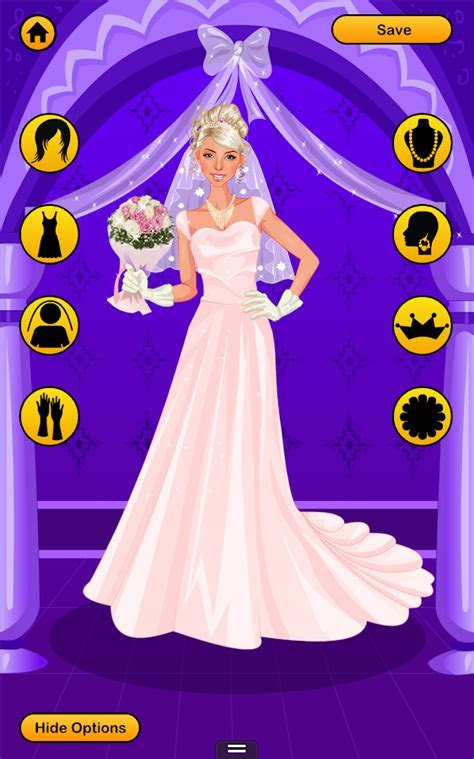 Wedding Dress Up Games   Free Bridal Look Makeover