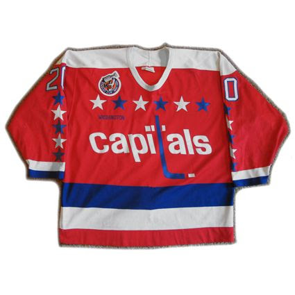 Washington Capitals 92-93 jersey, Washington Capitals 92-93 jersey