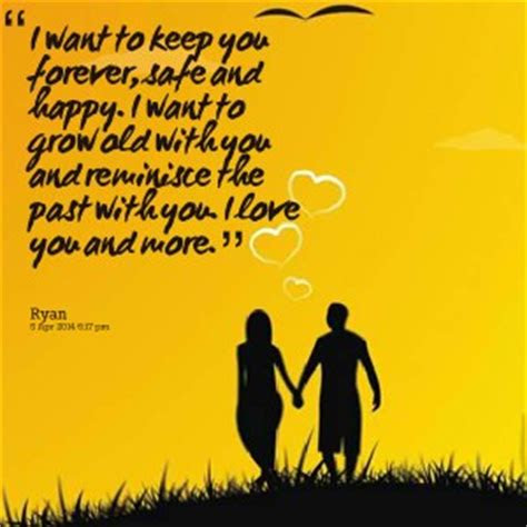 I Just Want You Forever Quotes