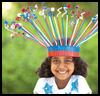 """Crowning<br />  Glory <span class=""""western"""" style="""" line-height: 100%""""> : Drinking Straws Crafts for Children</span>"""