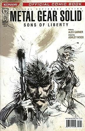 Ashley Wood Metal Gear Solid Comic