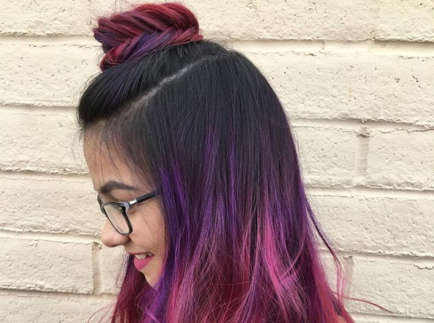 38 Hair Color Ombre Rambut Pendek Great Style