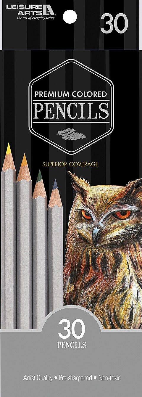 Premium Colored Pencils by Leisure Arts